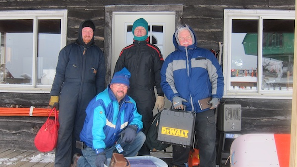 TURN ON IMAGES to see all four ham radio guys in this story.