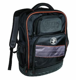Be sure you look at the right backpack. You want one with all sorts of internal compartments like the one I have.