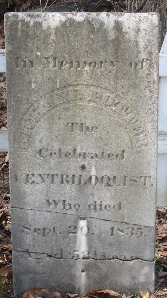If my math is correct, Richard Potter was born in 1783! Photo credit: Tim Carter - W3ATB