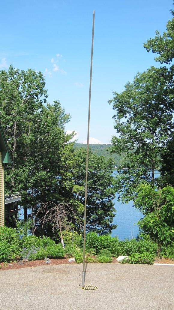 portable antenna mast