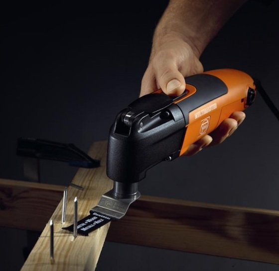 There are grinding blades, sanding pads, etc. that can be used with this tool.