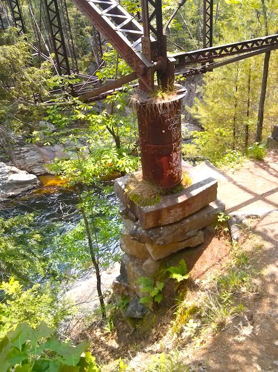 Livermore Falls bridge
