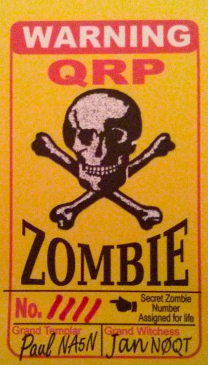 Zombie Shuffle Card