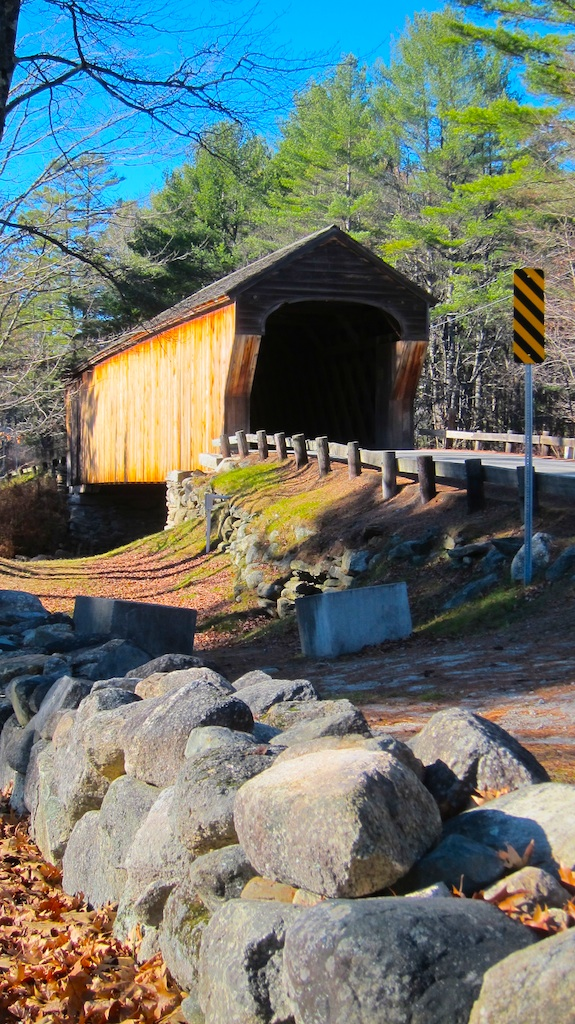 Here's the stunning Corbin covered bridge built in 1835 and restored 159 years later! Photo credit: Tim Carter - W3ATB