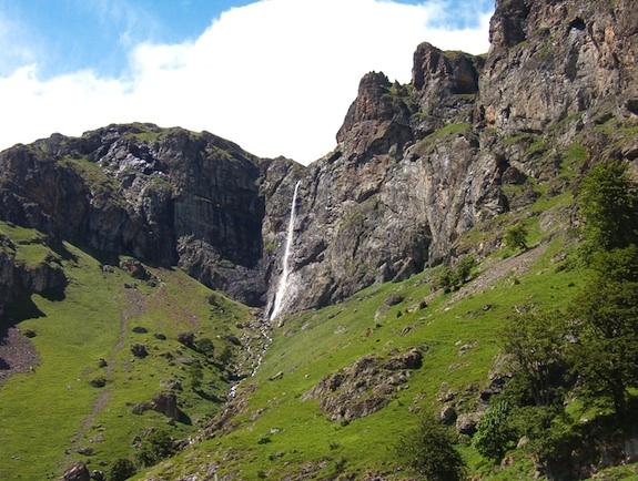 Bulgarian Summer Waterfall