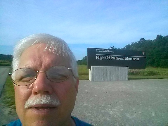 Tim at Flight 93