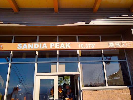 Sandia Peak SOTA