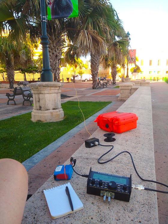 QRP from KP4