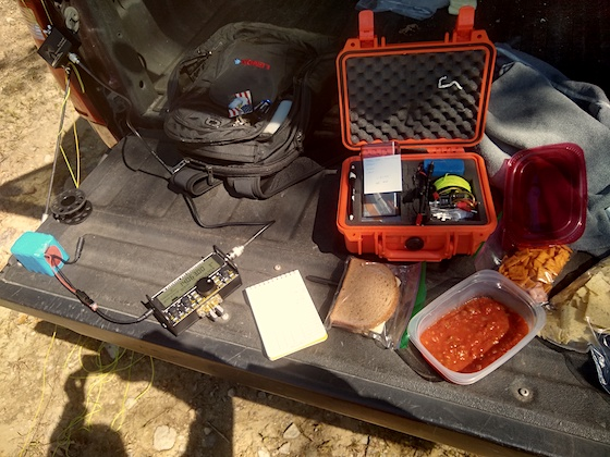 QRP Afield 2020 Food