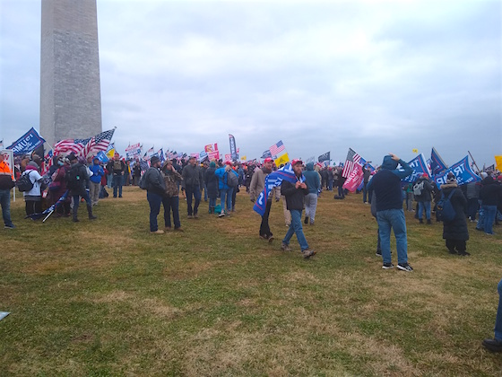 March for Trump WM hill